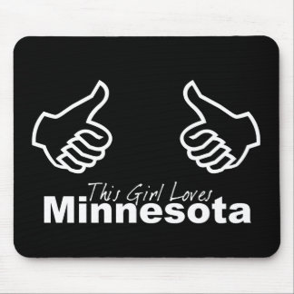 This Girl Loves Minnesota Mouse Pad