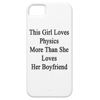 This Girl Loves Physics More Than She Loves Her Bo iPhone 5 Cover