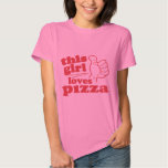 This Girl Loves Pizza Tee Shirt