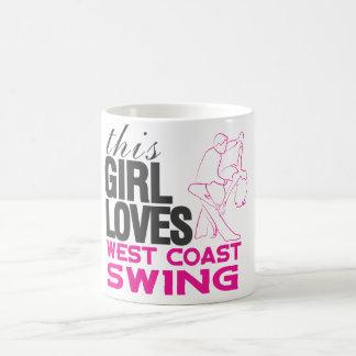 This Girl Loves West Coast Swing Mug