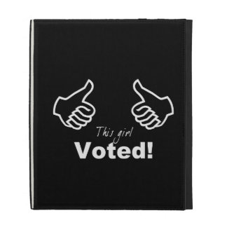 This Girl Voted iPad Case