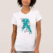 This girl won't stop teal T-Shirt