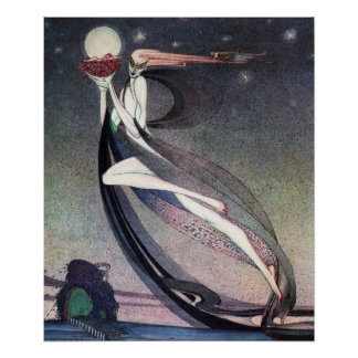 This Good Fairy by Kay Nielsen Poster