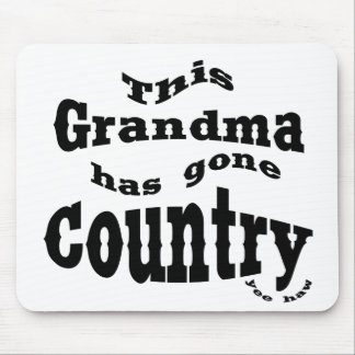 This Grandma gone country Mousepads