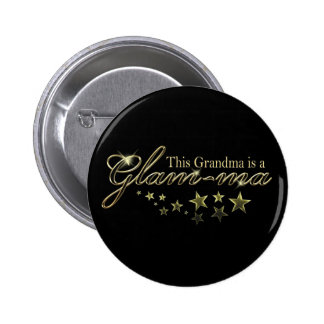 This Grandma is a Glam-ma 2 Inch Round Button