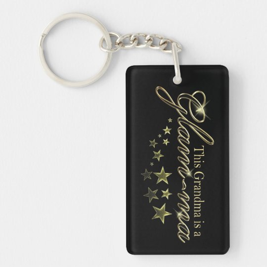 This Grandma is a Glam-ma Keychain
