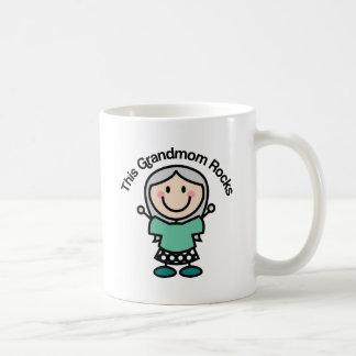 This Grandmom Rocks Gift Idea Mug