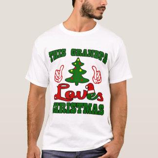 THIS GRANDPA LOVES CHRISTMAS T-Shirt