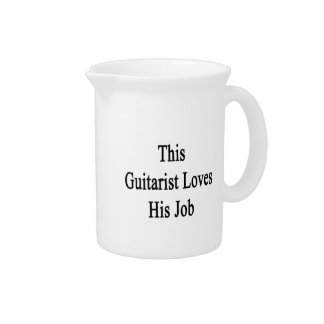 This Guitarist Loves His Job Pitcher