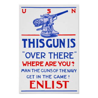 This Gun Is Over There -- WW1 Poster