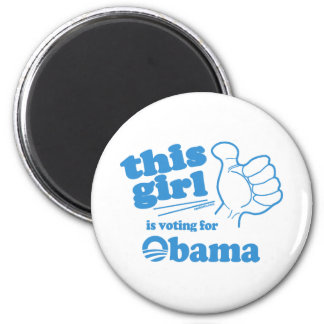 This Guy / Girl is voting for Obama Magnet