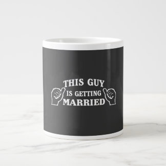 This Guy is Getting Married Large Coffee Mug