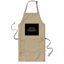 This Guy is Getting Married Long Apron