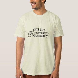 This Guy is Getting Married T-Shirt