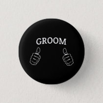 This Guy is the Groom Button