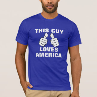 This Guy Loves America T-Shirt