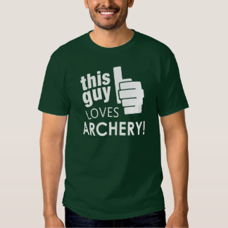 This Guy Loves Archery! T Shirt