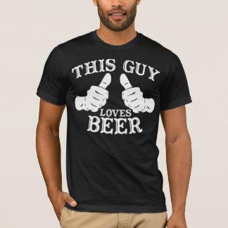 This Guy Loves Beer Tee