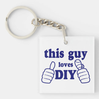 This Guy Loves DIY (personalised) Keychain
