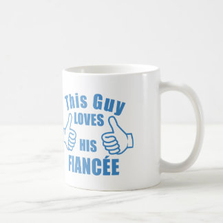 This guy loves his fiancée mug cup valentine's gif