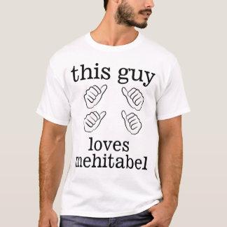 This Guy Loves Mehitabel T-Shirt