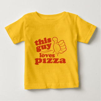 This Guy Loves Pizza Baby T-Shirt