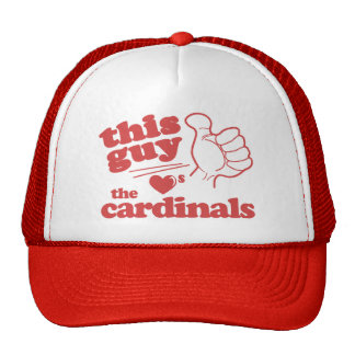 This Guy Loves the Cardinals Trucker Hat