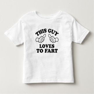 This Guy Loves To Fart Toddler T-shirt
