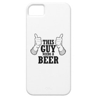 This Guy needs a beer - Holiday Humor iPhone 5 Covers