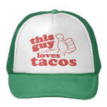 This Guy or Girl Loves Tacos Hats