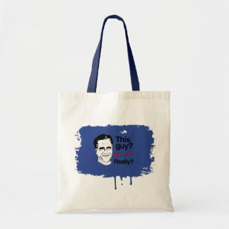 This guy Really Romney.png Tote Bags