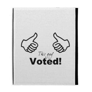 This Guy Voted iPad Folio Case