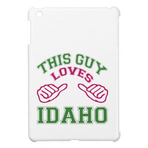 This Guys Loves Idaho. iPad Mini Cover