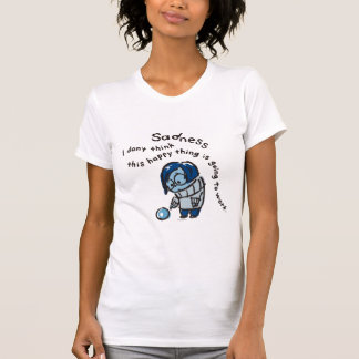 This Happy Thing Isn't Going to Work Tee Shirt