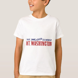 this hiker climbed mt washington shirt or bumper s