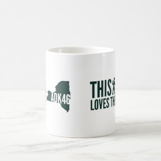 """This Hiker Loves the ADK46"" Coffee Mug"