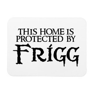 This home is protected by Frigg Magnet