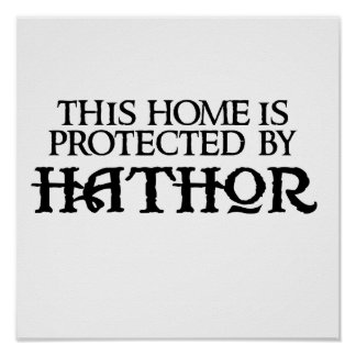 This home is protected by Hathor Poster