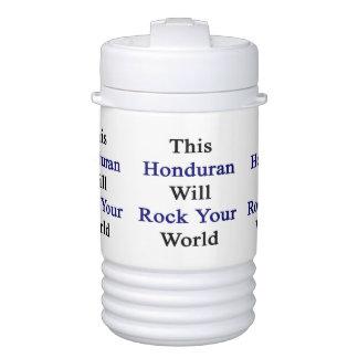 This Honduran Will Rock Your World Igloo Beverage Dispenser