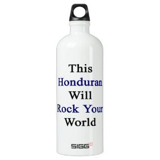 This Honduran Will Rock Your World SIGG Traveler 1.0L Water Bottle