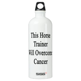 This Horse Trainer Will Overcome Cancer SIGG Traveler 1.0L Water Bottle