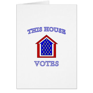 This House Votes Card