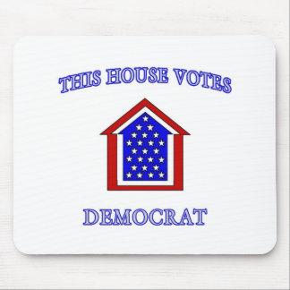 This House Votes Democrat Mouse Pad