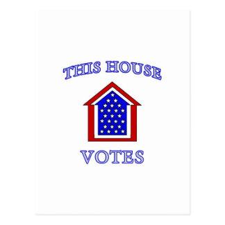 This House Votes Postcard