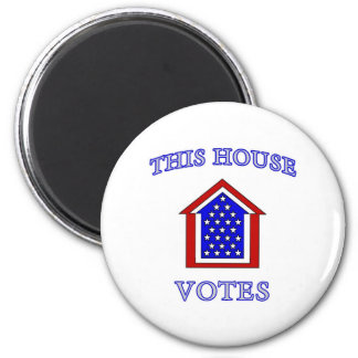 This House Votes Refrigerator Magnet