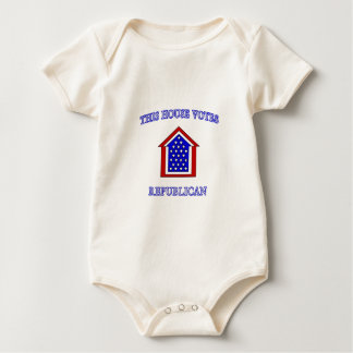 This House Votes Republican Baby Bodysuit