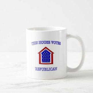 This House Votes Republican Coffee Mug