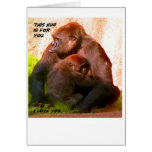 This hug is for you_ Card_by Elenne Boothe Greeting Card