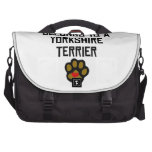 This Human Belongs To A Yorkshire Terrier Computer Bag