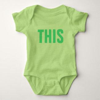 THIS Internet Slang Social Media Humor Funny Cute Baby Bodysuit